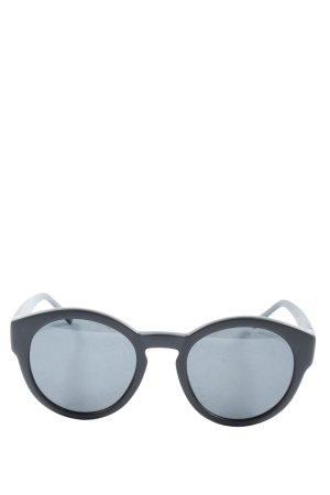 Matt & Nat Okrągłe okulary przeciwsłoneczne czarny W stylu casual