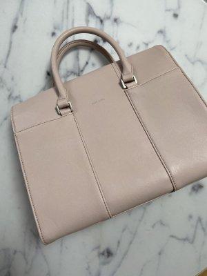 Matt & Nat vegane Handtasche Umhängetasche Rosa Silber Tasche