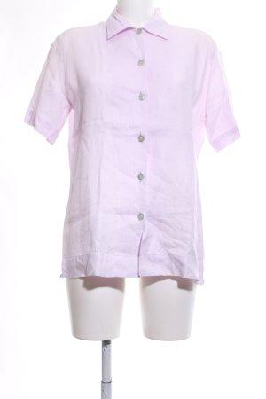 Matthew Goodman Shirt met korte mouwen roze zakelijke stijl
