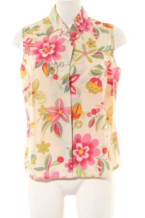 Matthew Goodman Shirt met korte mouwen bloemenprint casual uitstraling