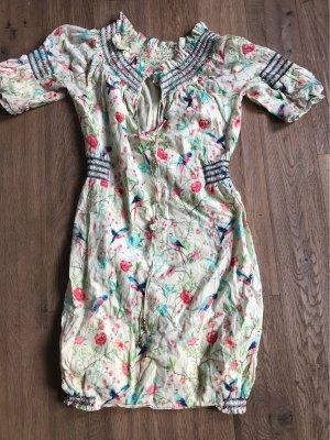Matthew Williamson for H&M Shortsleeve Dress multicolored cotton