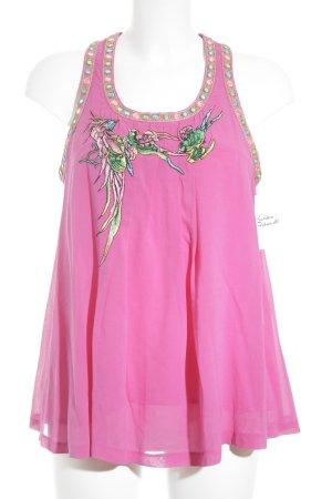 Matthew Williamson for H&M ärmellose Bluse mehrfarbig Street-Fashion-Look