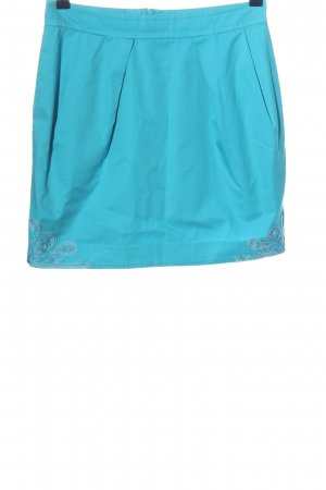 Matthew Williamson for H&M Falda globo azul look casual