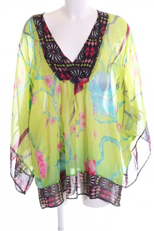 Matthew Williamson for H&M Kimono-Bluse Blumenmuster extravaganter Stil