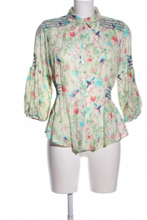 Matthew Williamson for H&M Langarm-Bluse Blumenmuster Elegant