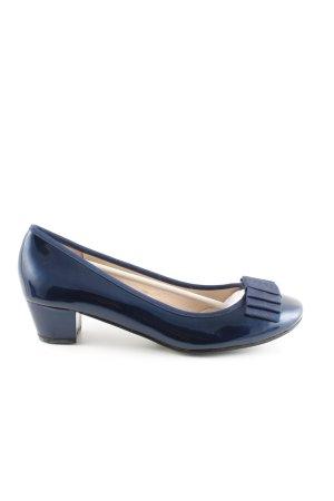 Maud Frizon Loafer blu elegante