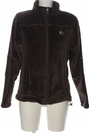 MAUI sports Chaqueta de forro polar marrón look casual