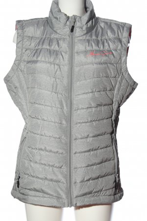 MAUI sports Sportvest lichtgrijs gestippeld casual uitstraling