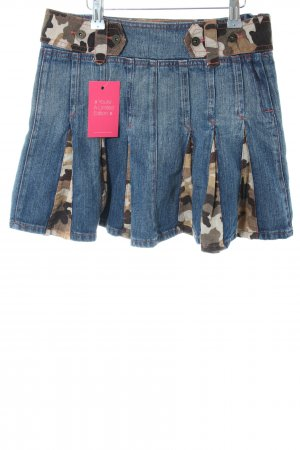 Maui Wowie Jeansrock Camouflagemuster Casual-Look