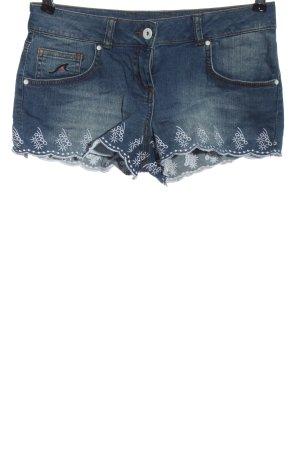 Maui Wowie Pantaloncino di jeans blu stile casual