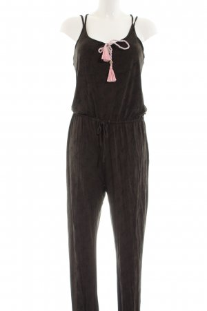 Maui Wowie Jumpsuit khaki-pink Allover-Druck Casual-Look