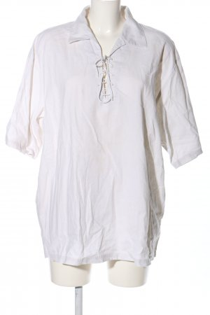 Maui Wowie Linen Blouse white casual look