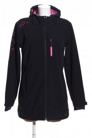 Maui Wowie Softshell Jacket black-pink casual look
