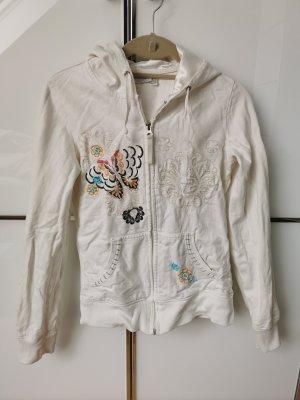 Maui Wowie Sweatjacke Damen Gr. 36 Weiß