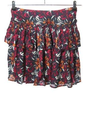 Maui Wowie Spódnica z falbanami Na całej powierzchni W stylu casual