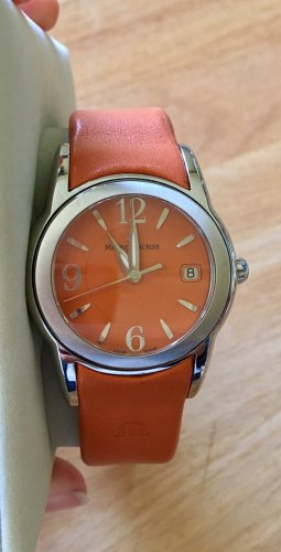 Maurice Lacroix Damen Uhr Orange Sphere SH1014 UVP. 590