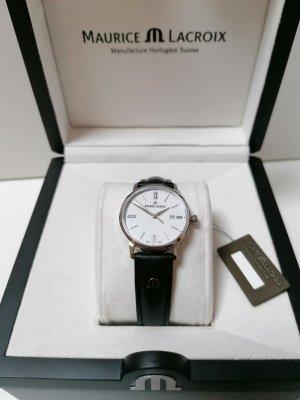 Maurice Lacroix Reloj con pulsera de cuero multicolor Cuero