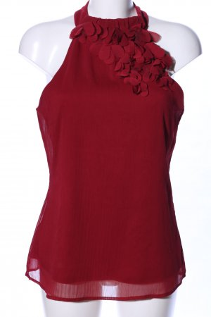 Maurices ärmellose Bluse rot Elegant