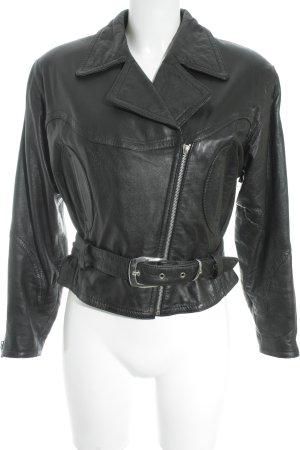 Mauritius Biker Jacket black leather