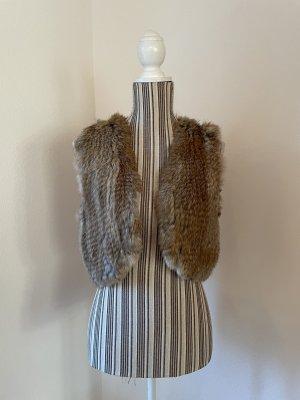Mauritius Fur vest multicolored pelt