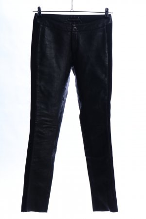 Mauritius Lederhose schwarz Casual-Look