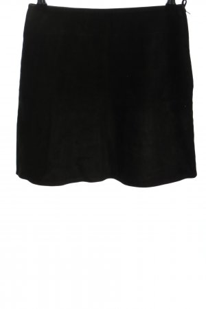 Mauritius Leather Skirt black casual look