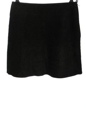 Mauritius Leren rok zwart casual uitstraling