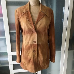 Mauritius Leather Jacket light brown leather