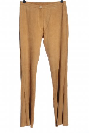 Mauritius Leather Trousers brown casual look