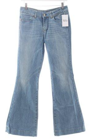 Mauro Grifoni Jeansy o kroju boot cut jasnoniebieski W stylu casual
