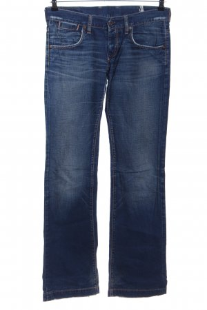 Mauro Grifoni Jeansschlaghose blau Casual-Look