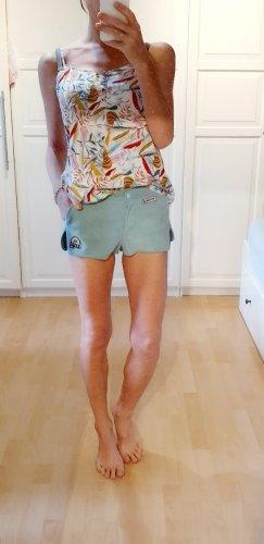 Mauro Grifoni Shorts aus leder suede hot pants Ibiza Coachella Boho Bohemian 80er