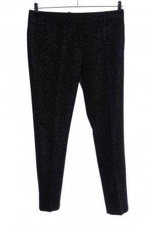Mauro Grifoni Stoffhose schwarz meliert Casual-Look