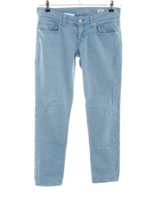 Mavi Jeansy 7/8 turkusowy W stylu casual