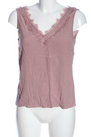 Mavi ärmellose Bluse pink Elegant