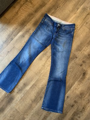 Mavi Vaquero de corte bota azul acero