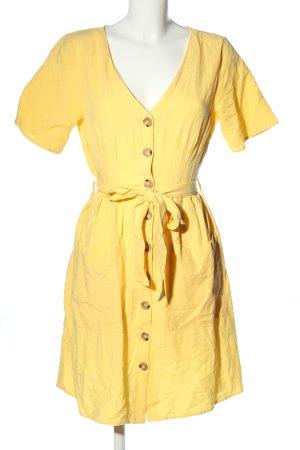Mavi Robe chemisier jaune primevère style décontracté