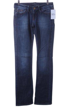 Mavi Jeansy o kroju boot cut ciemnoniebieski W stylu casual