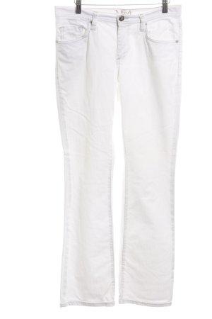 Mavi Boot Cut Jeans weiß Casual-Look