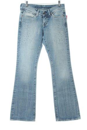 Mavi Boot Cut Jeans himmelblau Casual-Look