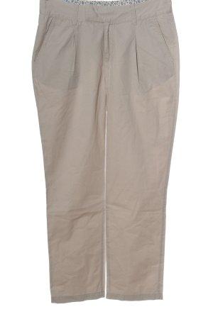 Mavi Pantalon à pinces blanc cassé style décontracté