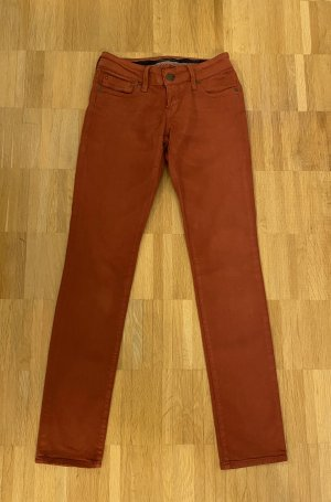 Mavi Damen Jeans in rostbraun Gr. 25/32