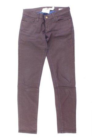Mavi Five-Pocket-Hose Größe 38 lila aus Baumwolle