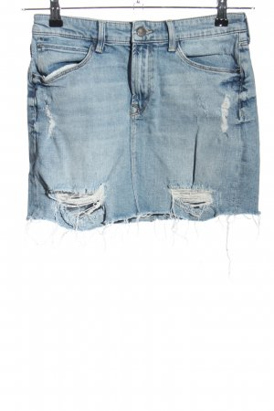 mavi gold Jeansrock blau Casual-Look