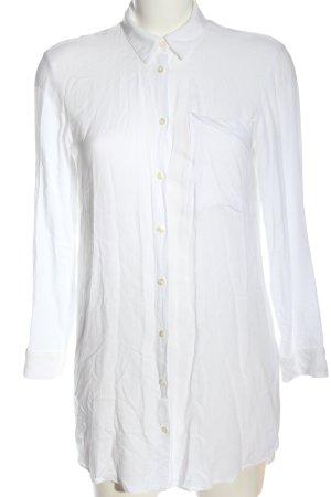 Mavi Blouse-chemisier blanc style d'affaires