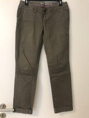 Mavi Jeans Co. Chino caqui-gris verdoso