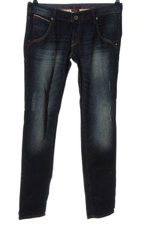 Mavi Jeans vita bassa blu stile casual