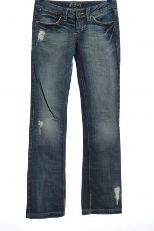 Mavi Hüftjeans blau Street-Fashion-Look