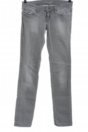 Mavi Low Rise jeans lichtgrijs casual uitstraling