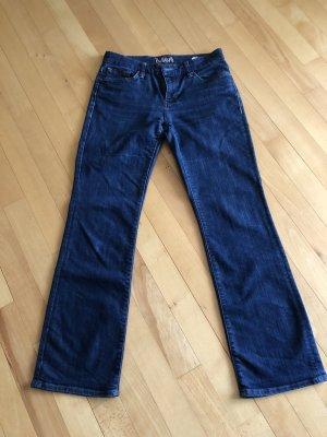 Mavi Jeansy z prostymi nogawkami ciemnoniebieski